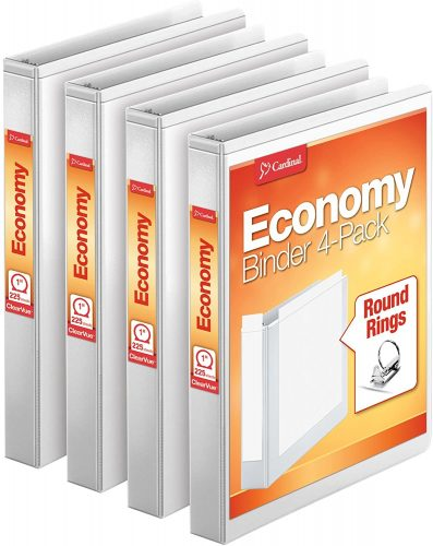 Cardinal Economy 3 Ring Binder| Ring Binders