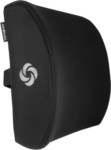 SAMSONITE SA5243 - Lumbar Support Pillow | Back Support For Office Chair