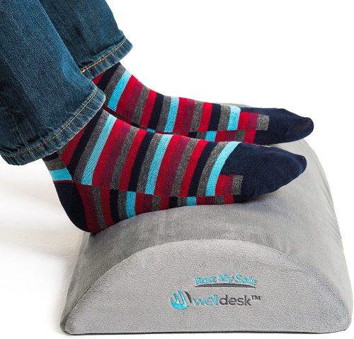 Rest My Sole Foot Rest Cushion for Under Desk| Footrests Under Desk