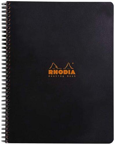 Rhodia Wirebound Meeting Book | Office Notepads