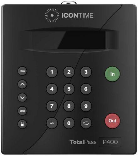 TotalPass P400 Employee Time Clock  Office Time Clocks