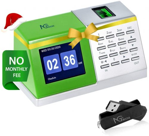 NGTeco Time Clocks for Employees  Office Time Clocks