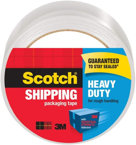 Industrial Heavy-Duty   Transparent Tape