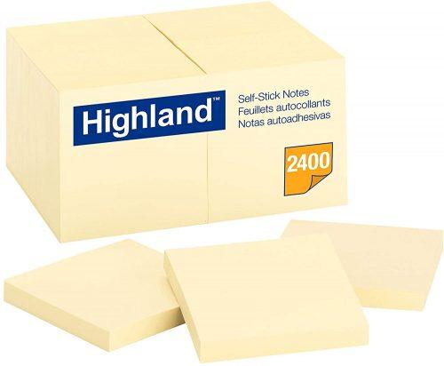 3M Highland Sticky Notes| Sticky Note