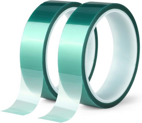 2 Roll Polyester High Temperature Masking | Transparent Tape