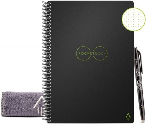 Rocketbook Smart Reusable Notebook| Office Notepads
