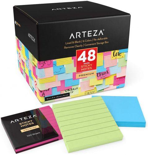 Arteza Sticky Notes| Sticky Note