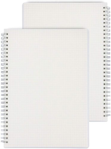 Miliko Transparent Hardcover | Office Notepads