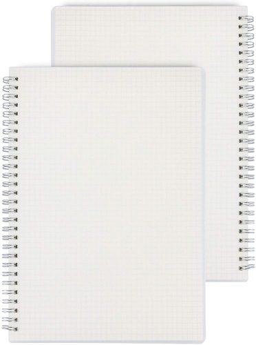Miliko Transparent Hardcover| Office Notepads