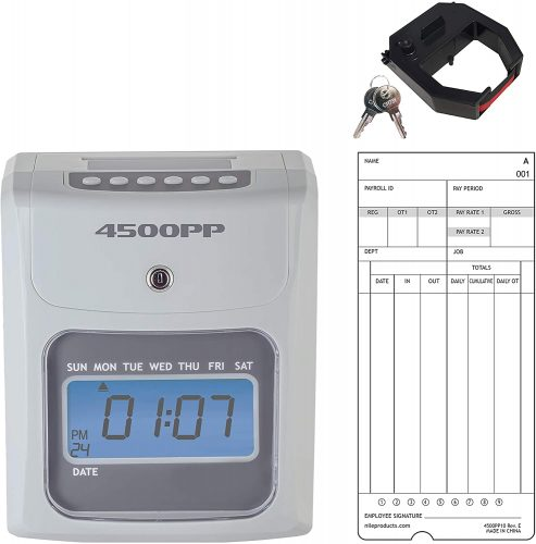 Nile Products Calculating Time Clock  Office Time Clocks