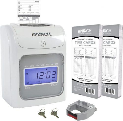 uPunch Starter Time Clock Bundle   Office Time Clocks
