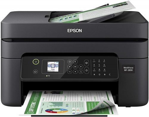 Epson WF-2830 Wireless with Color Printer | Fax Machine