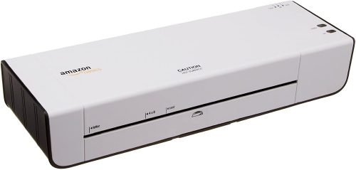Amazon Basics 9-Inch Thermal Laminator Machine | Mini Laminating Machines