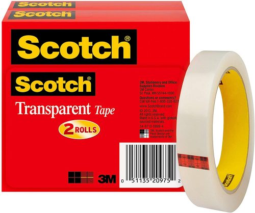 Scotch Brand 3/4 x 2592-Inches   Transparent Tape