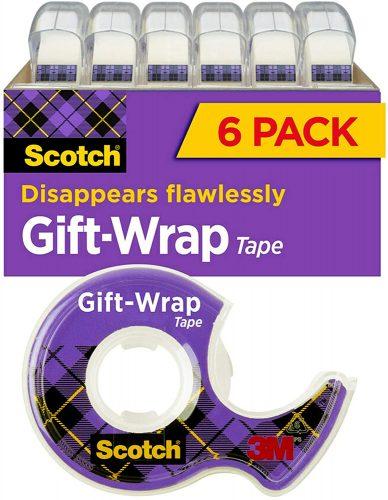 Scotch 3/4 x 650 Inches Transparent Tape – 6 Pack   Transparent Tape
