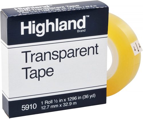 Highland Transparent and Invisible | Transparent Tape