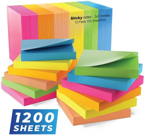 Infiniko Colorful Stickies| Sticky Note