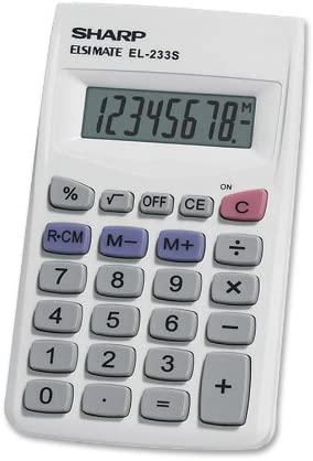 Sharp EL233SB Standard Function Calculator | Mini Calculators