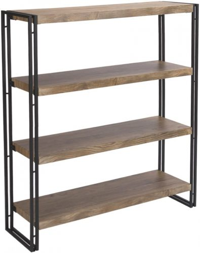 FIVEGIVEN 4 Tier Bookshelf | Office Bookcase