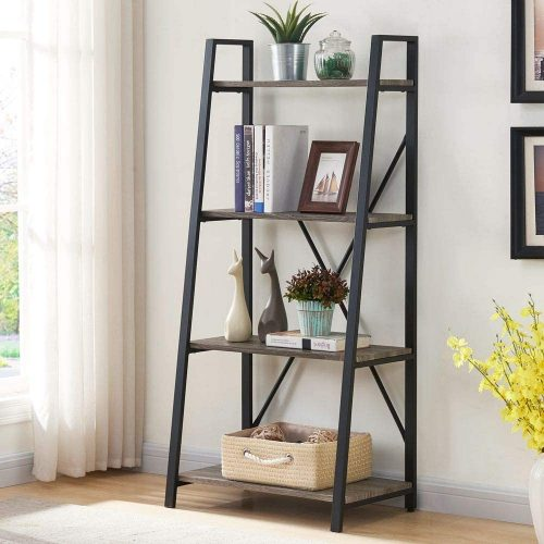 BON AUGURE Ladder Shelf | Office Bookcase