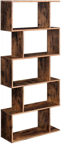 VASAGLE Wooden Bookcase | Office Bookcase