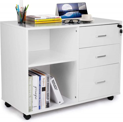 TUSY 3-Drawer File Cabinet | Office File Cabinet