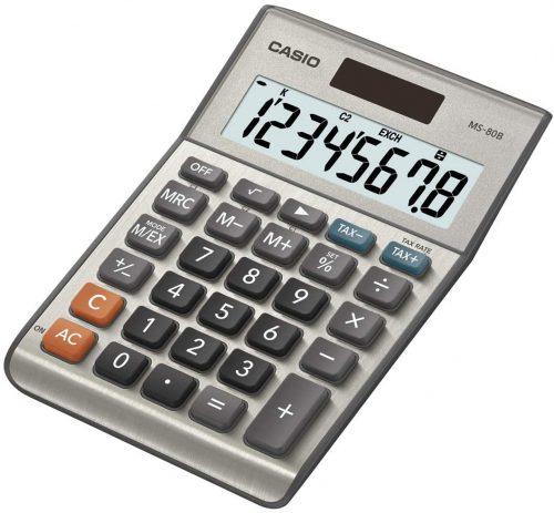 Casio MS-80B Desktop Calculator| Mini Calculators