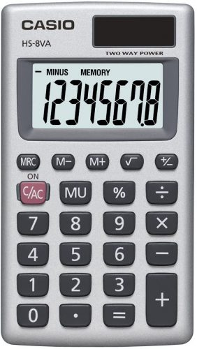 Casio HS-8VA Calculator| Mini Calculators
