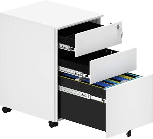 YITAHOME Metal Filing Cabinet | Office File Cabinet