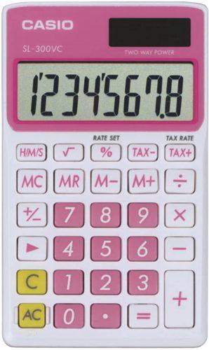 Casio SL-300VC Standard Function Calculator| Mini Calculators
