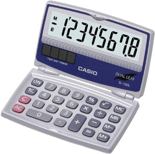Casio SL-100L Compact Calculator | Mini Calculators
